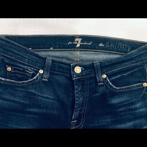 7 for all mankind woman's jeans 👖